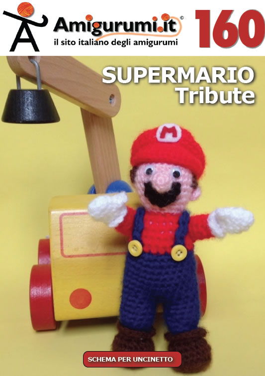 schemi per uncinetto di Amigurumi.it: SUPERMARIO Tribute  (Album 160)