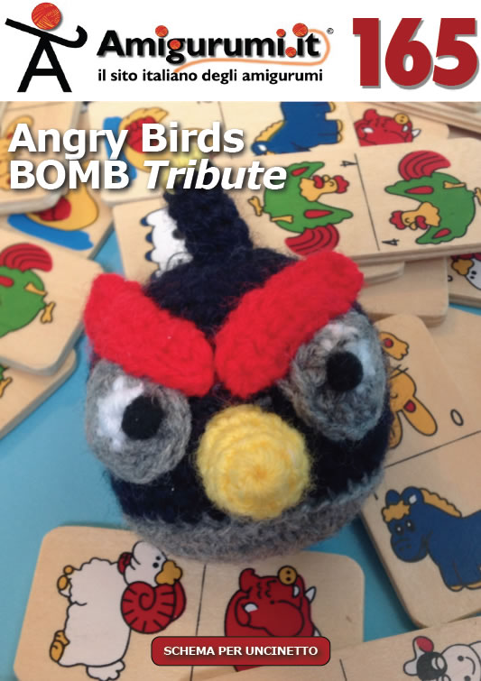 schemi per uncinetto di Amigurumi.it: Angry Birds BOMB Tribute  (Album 165)